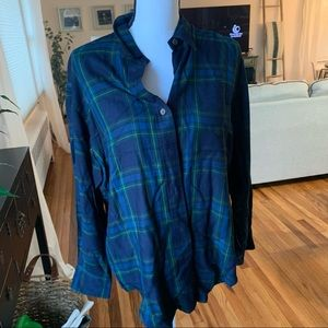 Ralph Lauren Plaid Top